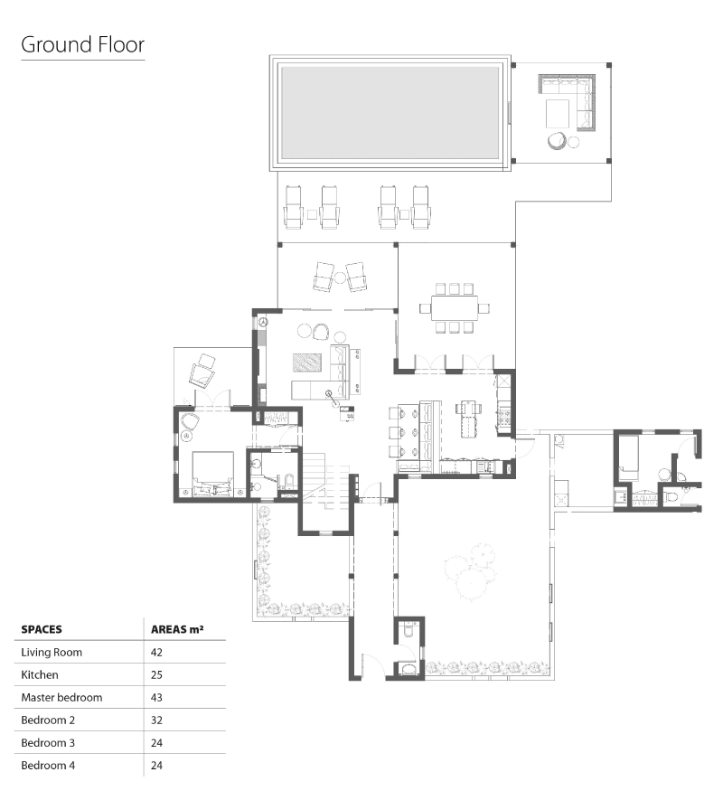 4bed ground